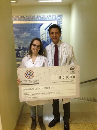 Pós-Graduação de Ortodontia da FMUC premiada no Congresso da Ordem dos Médicos Dentistas